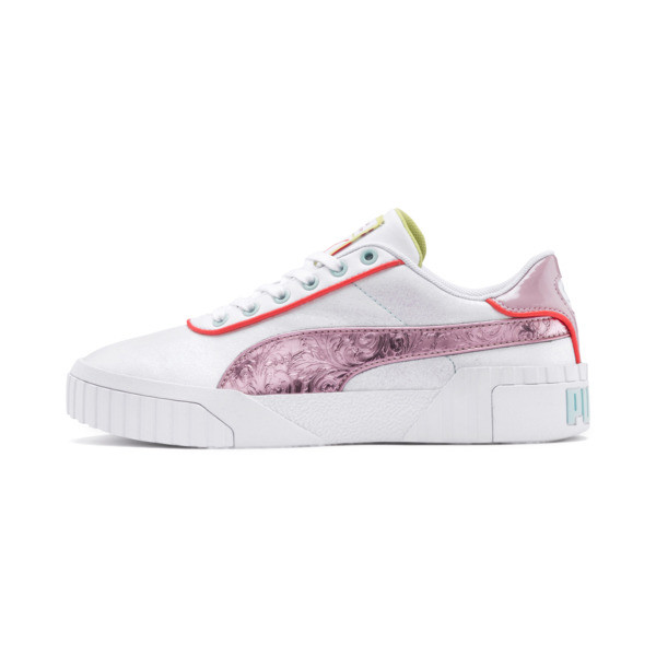 PUMA x SOPHIA WEBSTER Cali Damen Sneaker, Puma White-Pale Pink, large