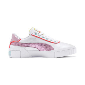 Thumbnail 5 of Basket PUMA x SOPHIA WEBSTER Cali pour femme, Puma White-Pale Pink, medium