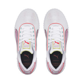 Thumbnail 6 of PUMA x SOPHIA WEBSTER Cali Women's Sneakers, Puma White-Pale Pink, medium