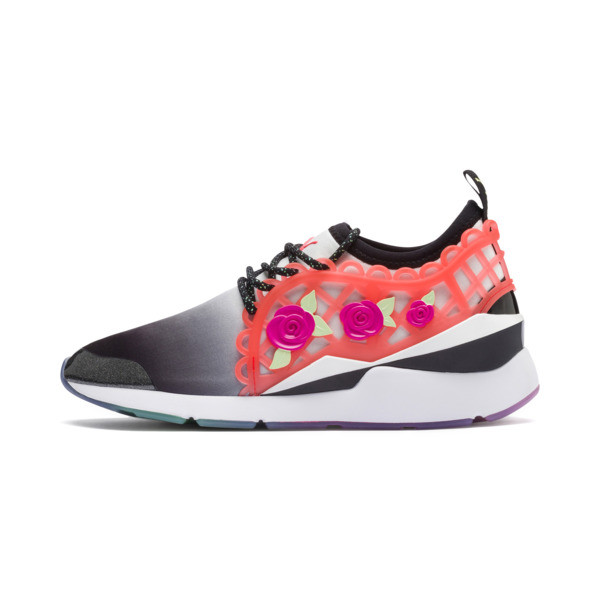 PUMA x SOPHIA WEBSTER Muse Damen Sneaker, Puma Black-Puma White, large