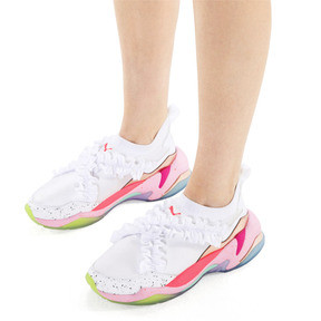 Thumbnail 2 of PUMA x SOPHIA WEBSTER Thunder Women's Trainers, Puma White, medium
