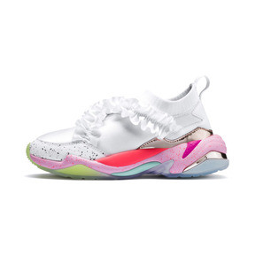 Thumbnail 1 of PUMA x SOPHIA WEBSTER Thunder Women's Trainers, Puma White, medium