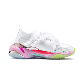 Thumbnail 7 of PUMA x SOPHIA WEBSTER Thunder Women's Trainers, Puma White, medium