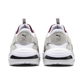 Thumbnail 5 of PUMA x LES BENJAMINS Thunder DISC Sneakers, Puma White-Glacier Gray, medium