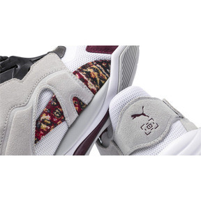 Thumbnail 9 of Basket PUMA x LES BENJAMINS Thunder Disc, Puma White-Glacier Gray, medium