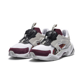Thumbnail 3 of Basket PUMA x LES BENJAMINS Thunder Disc, Puma White-Glacier Gray, medium