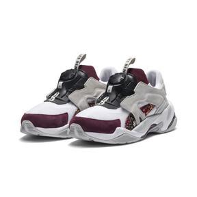 Thumbnail 4 of PUMA x LES BENJAMINS Thunder DISC Sneakers, Puma White-Glacier Gray, medium