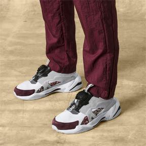 Thumbnail 2 of PUMA x LES BENJAMINS Thunder DISC Sneakers, Puma White-Glacier Gray, medium