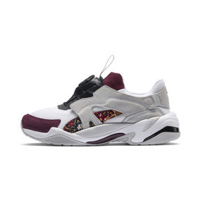 Thumbnail 1 of Basket PUMA x LES BENJAMINS Thunder Disc, Puma White-Glacier Gray, medium