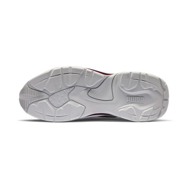 PUMA x LES BENJAMINS Thunder DISC Sneakers, Puma White-Glacier Gray, large