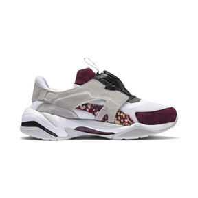 Thumbnail 6 of Basket PUMA x LES BENJAMINS Thunder Disc, Puma White-Glacier Gray, medium