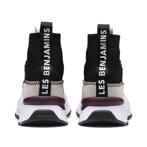 Thumbnail 5 of PUMA x LES BENJAMINS RS-0 Trainers, Puma White-Puma Black, medium