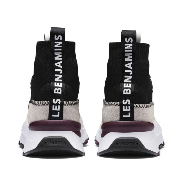 RS-0 LES BENJAMINS Sneakers, Puma White-Puma Black, large