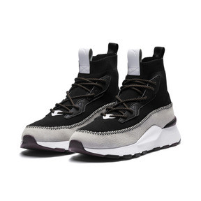 Thumbnail 4 of PUMA x LES BENJAMINS RS-0 Trainers, Puma White-Puma Black, medium