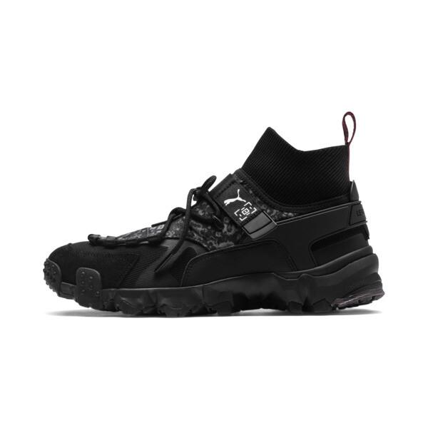 PUMA x LES BENJAMINS Trailfox Shoes, Puma Black, large