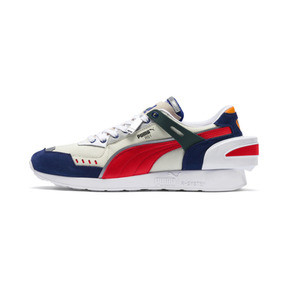 Thumbnail 1 of PUMA x ADER ERROR RS-1 Trainers, Whisper White-Blueprint-Red, medium