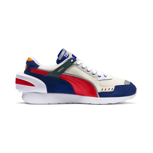 PUMA x ADER ERROR RS-1 Trainers, Whisper White-Blueprint-Red, large