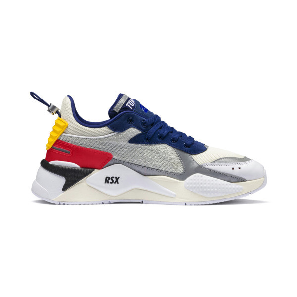 PUMA x ADER ERROR RS-X Trainers, Whisper White-Blueprint-Red, large
