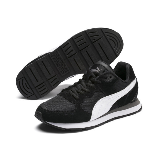 Vista Sneakers JR, Puma Black-Puma White, large