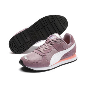 Thumbnail 2 of Vista Sneakers JR, Elderberry-Puma White, medium