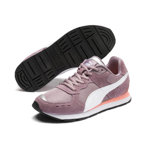 Vista Sneakers JR, Elderberry-Puma White, large