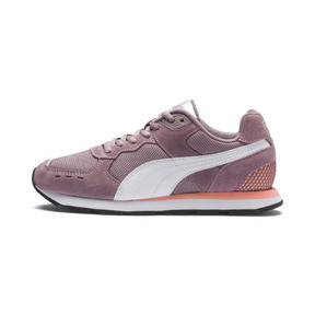 Thumbnail 1 of Vista Sneakers JR, Elderberry-Puma White, medium