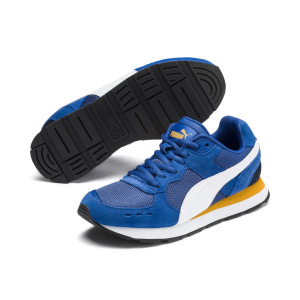 Vista Sneakers JR, Galaxy Blue-Puma White, large