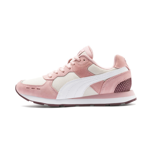 Vista Youth Trainers, Roze/Wit, Maat 38.5 | PUMA