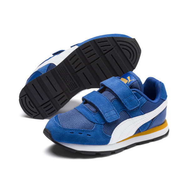 Vista Little Kids' Shoes, Galaxy Blue-Puma White, large