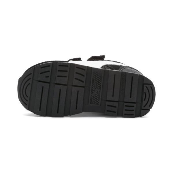 Zapatos Vista para bebé, Puma Black-Puma White, grande