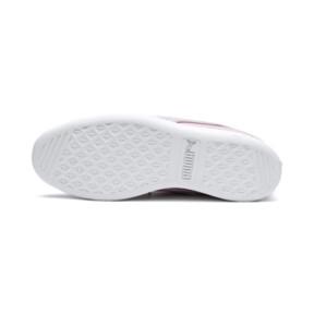Thumbnail 4 of PUMA Vikky Ribbon Satin Sneakers JR, Pale Pink-Pale Pink, medium