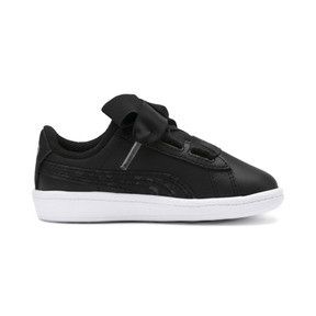 Thumbnail 5 of Vikky Ribbon Kids Girls' Trainers, Puma Black-Puma Silver-White, medium