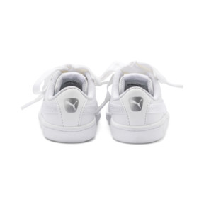 Thumbnail 3 of Vikky Ribbon Baby Girls' Trainers, Puma White-Puma White, medium