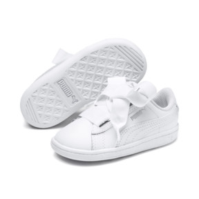 Thumbnail 2 of Vikky Ribbon Baby Girls' Trainers, Puma White-Puma White, medium