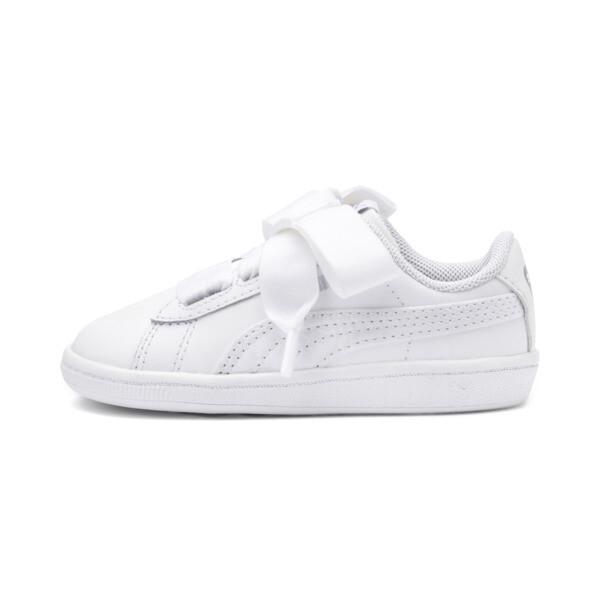Vikky Ribbon Babies Mädchen Sneaker, Puma White-Puma White, large