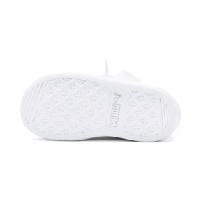 Thumbnail 4 of Vikky Ribbon Baby Girls' Trainers, Puma White-Puma White, medium