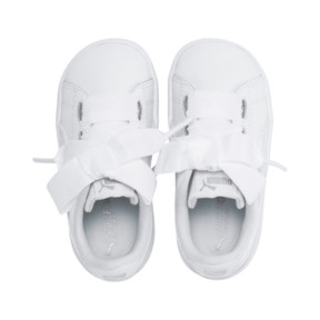 Thumbnail 6 of Vikky Ribbon Baby Girls' Trainers, Puma White-Puma White, medium