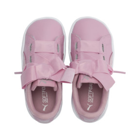 Thumbnail 6 of Vikky Ribbon Baby Girls' Trainers, Pale Pink-Pale Pink, medium