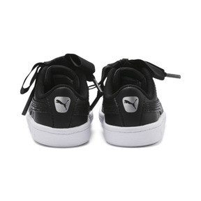 Thumbnail 3 of Vikky Ribbon Babies Mädchen Sneaker, Puma Black-Puma Silver-White, medium