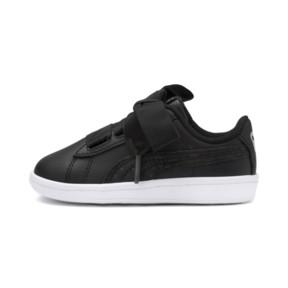 Thumbnail 1 of Vikky Ribbon Baby Girls' Trainers, Puma Black-Puma Silver-White, medium