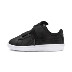 Miniatura 1 de ZapatosPUMA Vikky Ribbon Satin AC para bebés, Puma Black-Puma Silver-White, mediano