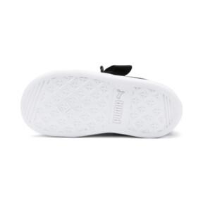 Miniatura 4 de ZapatosPUMA Vikky Ribbon Satin AC para bebés, Puma Black-Puma Silver-White, mediano