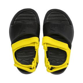 Thumbnail 6 of Divecat v2 Injex Babies' Sandals, Puma Black-Blazing Yellow, medium