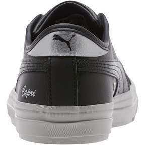 Thumbnail 4 of Capri Metallic Women's Sneakers, Puma Black, medium