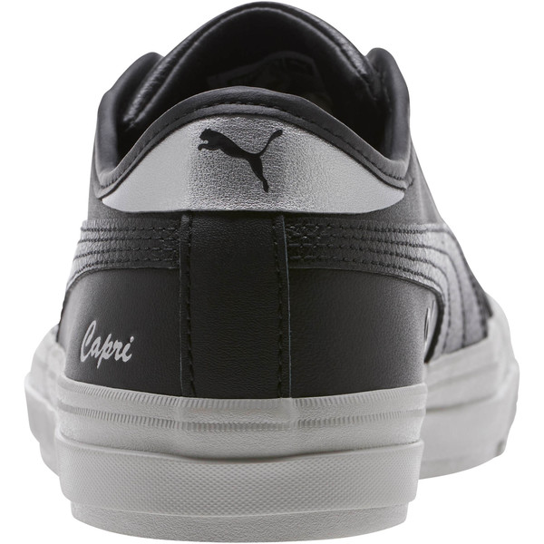 Capri Metallic Women's Sneakers, Puma Black, large