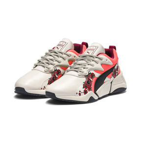 Thumbnail 9 of PUMA x SUE TSAI Nova Cherry Bombs Women's Trainers, Powder Puff-Puma Black, medium