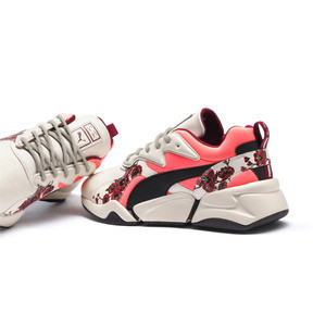 Thumbnail 10 of PUMA x SUE TSAI Nova Cherry Bombs Women's Trainers, Powder Puff-Puma Black, medium