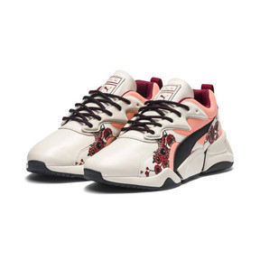 Thumbnail 3 of PUMA x SUE TSAI Nova Cherry Bombs Women's Trainers, Powder Puff-Puma Black, medium