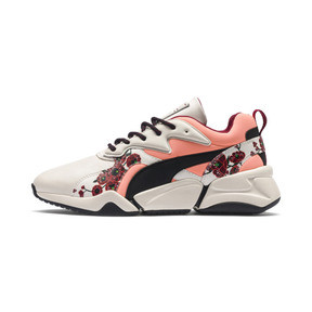 Thumbnail 1 of PUMA x SUE TSAI Nova Cherry Bombs Women's Trainers, Powder Puff-Puma Black, medium