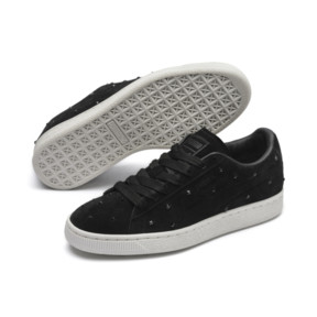 Suede Studs Women's Trainers